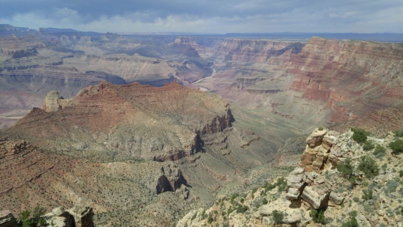 Vista over the Grand Canyon expanse. Analogy for seeing your complete financial life.