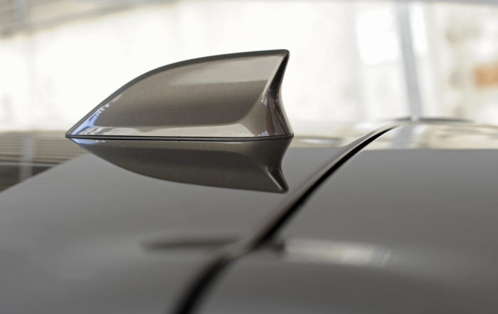 "Picture of car ""shark fin"" antenna. The reason why I needed to think out of the box and find the value of being handy."